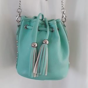 Tiffany blue drawstring bag